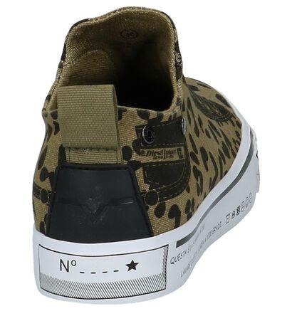 Kaki Slip-on Sneakers Diesel Imaginee, Groen, pdp
