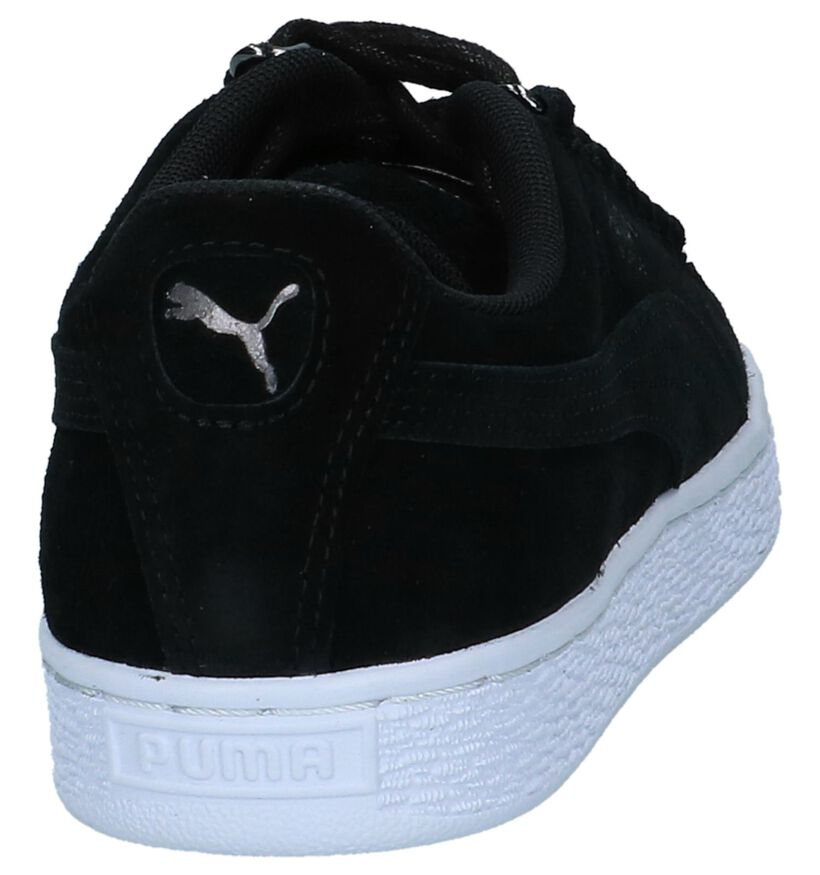 Puma Baskets basses en Noir en daim (221659)