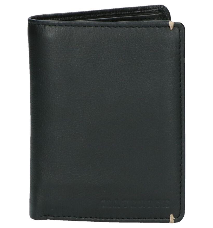 Maverick Portefeuilles en Noir en cuir (222472)