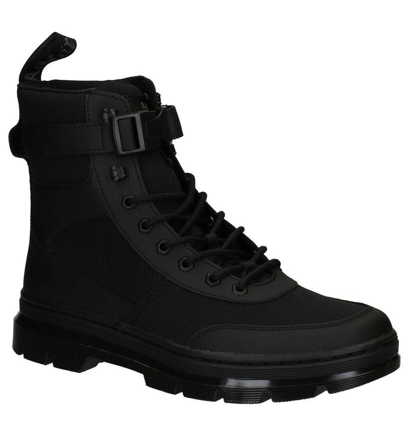 Dr. Martens Combs Tech Zwarte Boots in stof (265576)