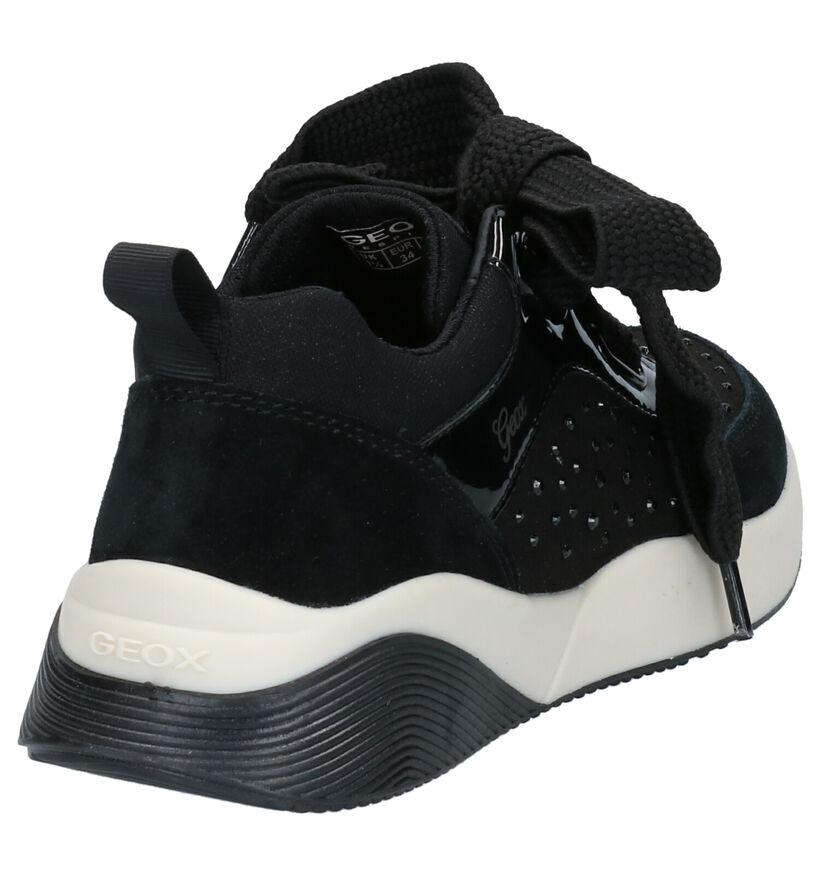 Geox Chaussures basses en Noir en daim (254491)