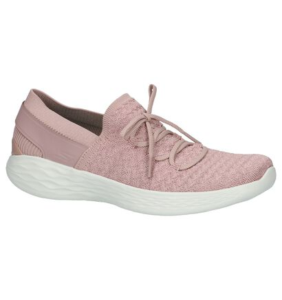 YOU by Skechers Taupe Instappers, Roze, pdp