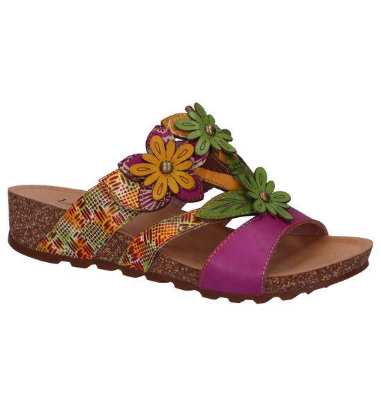 Laura Vita Paarse Slippers