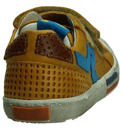 Romagnoli Chaussures basses en Jaune en cuir (195428)