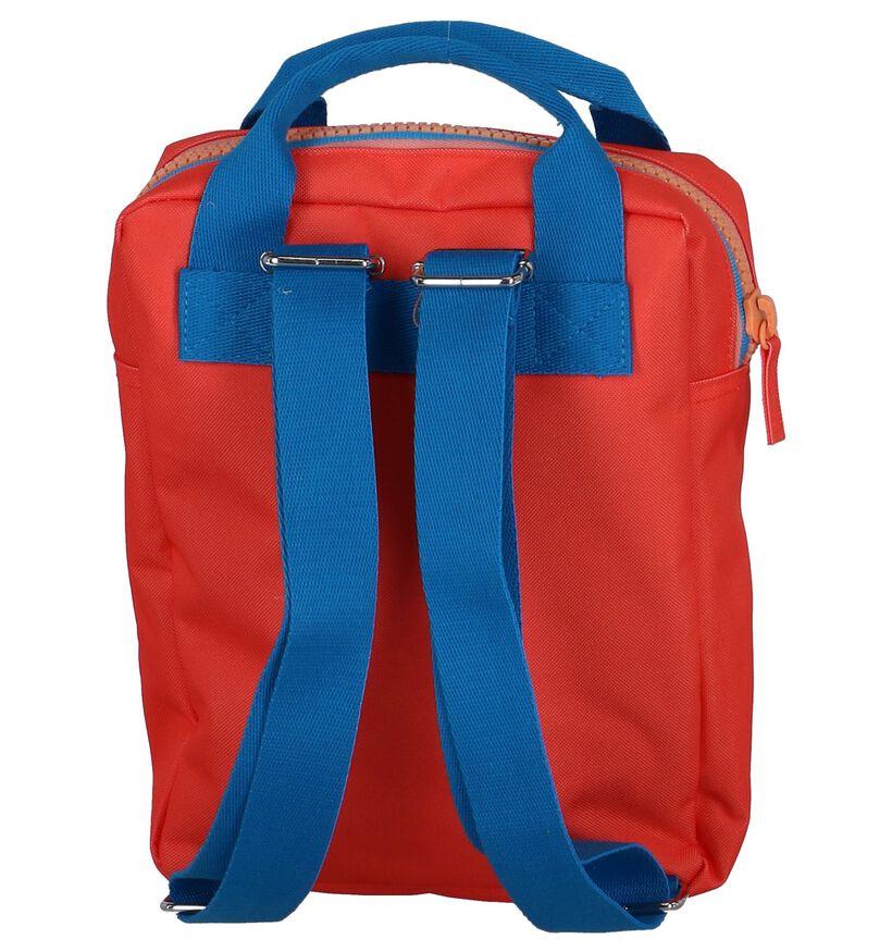 Engel Sacs à dos en Rouge en textile (250448)