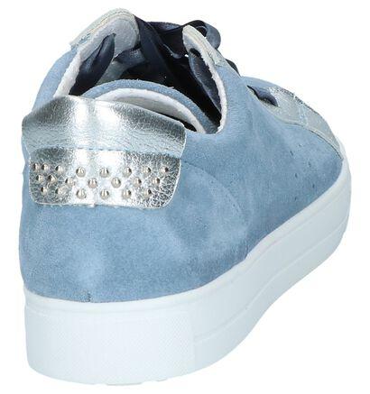 Mirel Chaussures basses en Bleu en cuir (246025)