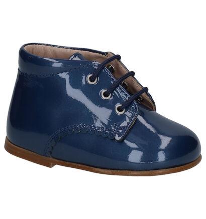Eli Chaussures basses en Bleu foncé en cuir verni (260862)