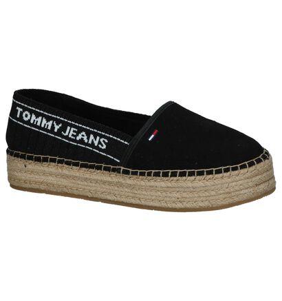 Zwarte Espadrilles Tommy Hilfiger Knit Tommy Jeans, Zwart, pdp