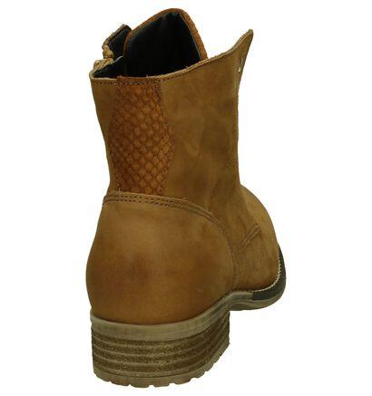 Miss Rose Chaussures à fermeture à glissière et lacets  (Cognac), Cognac, pdp