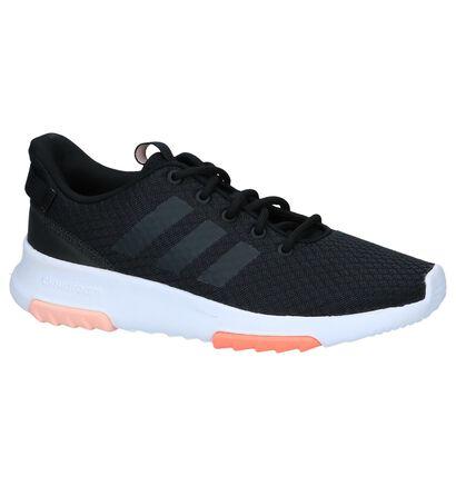 Zwarte Runners adidas Cloudfoam Racer TR in stof (237046)