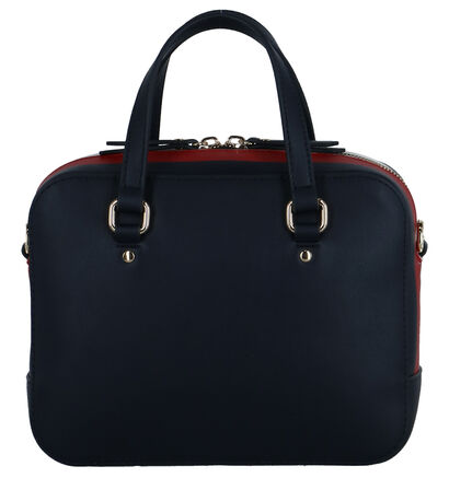 Witte Handtas Tommy Hilfiger TH Corporate Mini Trunk , Blauw, pdp