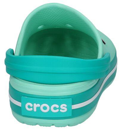 Donkerblauwe Slippers Crocs Crocband in kunststof (243745)