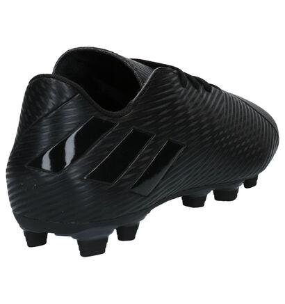 adidas Nemiziz Zwarte Voetbalschoenen in kunstleer (265401)