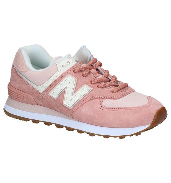 Naw Balance WL574 Sneakers en Rose