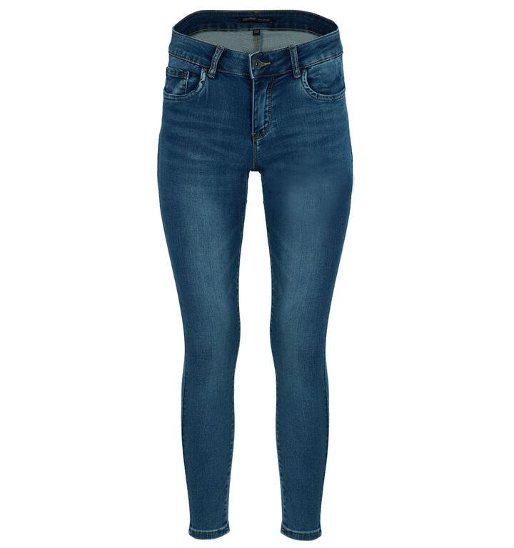 Toxik Push Up Blauwe Skinny Fit Jeans