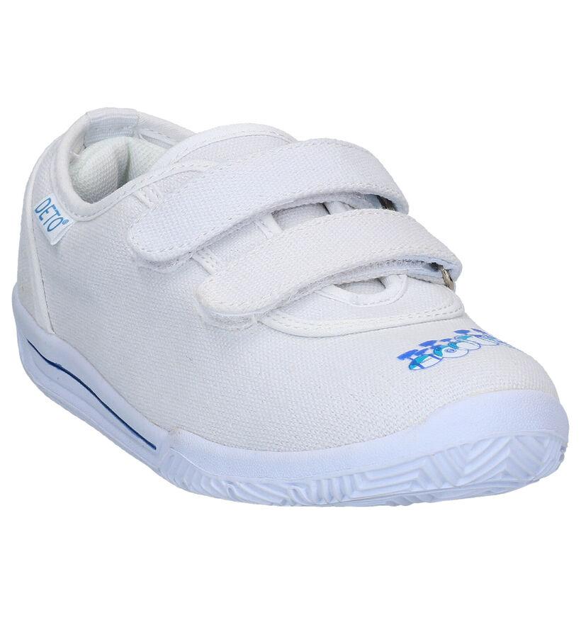 Deto Witte Sportschoenen in stof (293530)