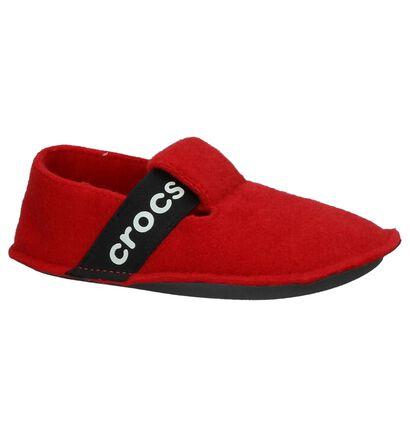 Crocs Classic Slipper Blauwe Pantoffels, Rood, pdp