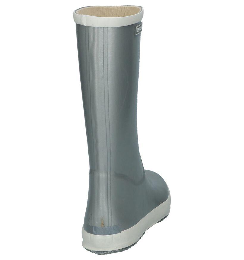 Zilveren Regenlaarzen Bergstein BN Rainboot WMN in rubber (233113)