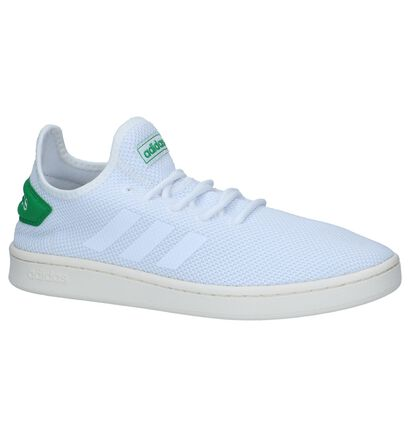 adidas Court Adapt Slip-on en Blanc en textile (237220)