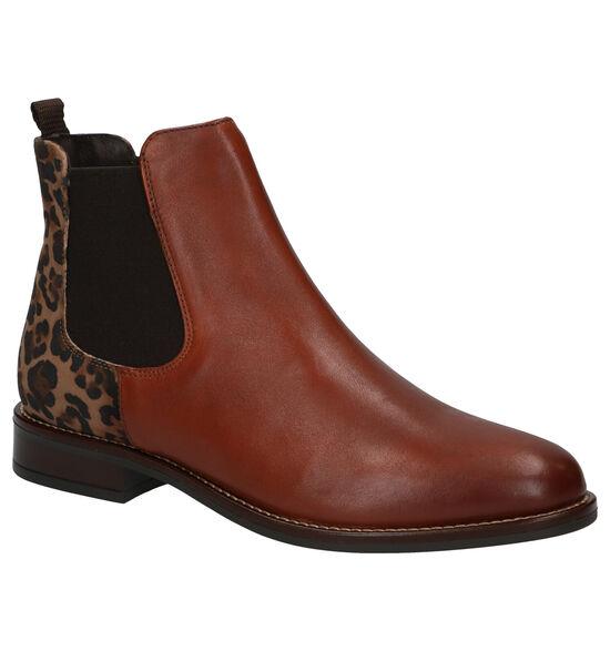 Gosh Chelsea Boots en Cognac