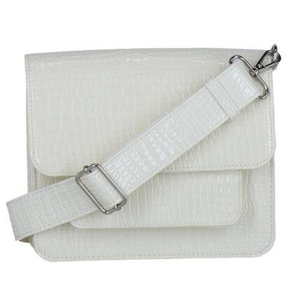 Hvisk Cayman Pocket Zwarte Crossbody Tas in kunstleer (280703)