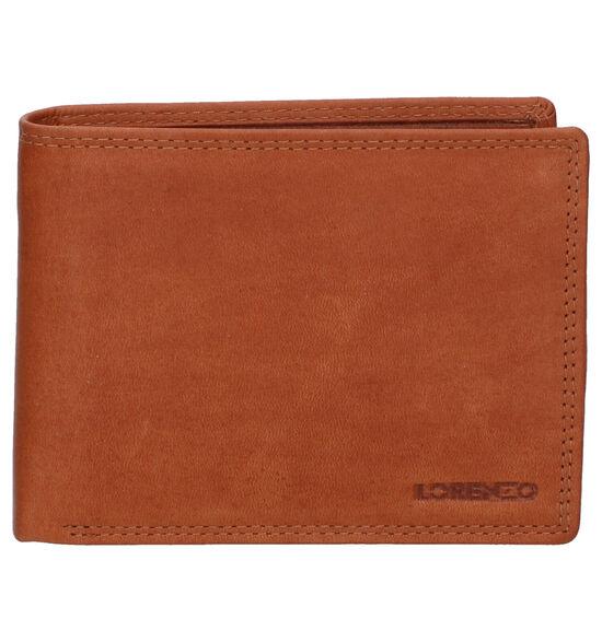 Euro-Leather Cognac Portefeuille