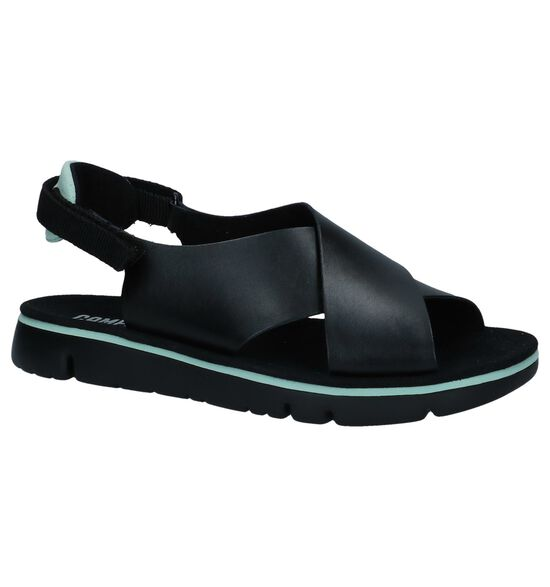 Zwarte Sandalen Camper