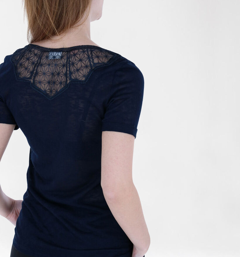 Vila Sumi Blauwe T-shirt (287722)