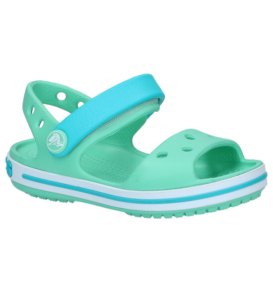 Crocs Crocband Groene Sandalen