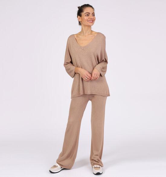 Dolce C. Beige Loungewear Set
