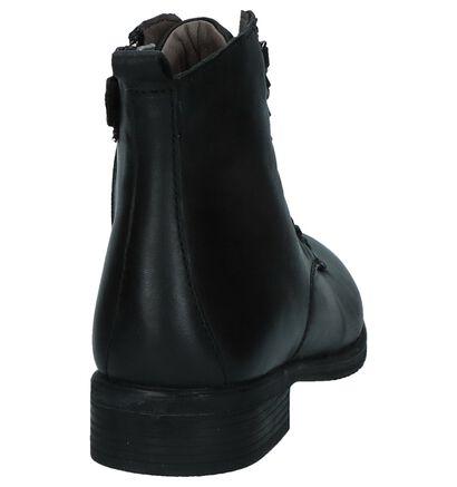 Milo & Mila Chaussures hautes en Noir en cuir (230842)