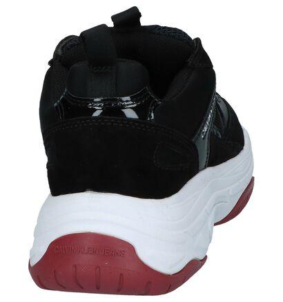 Calvin Klein Baskets basses en Noir en cuir (255827)