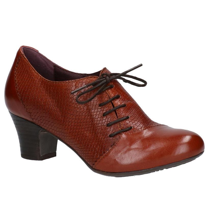 Brako Anatomics Chaussures à lacets en Noir en cuir (261393)