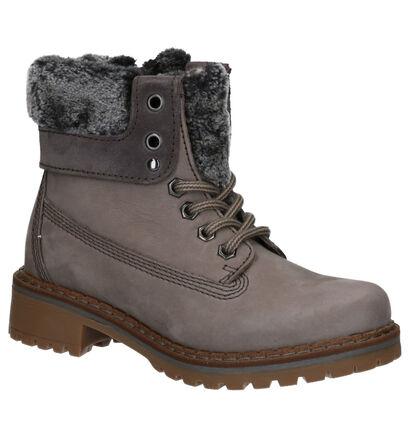 Dazzle Chaussures hautes en Gris en nubuck (261602)
