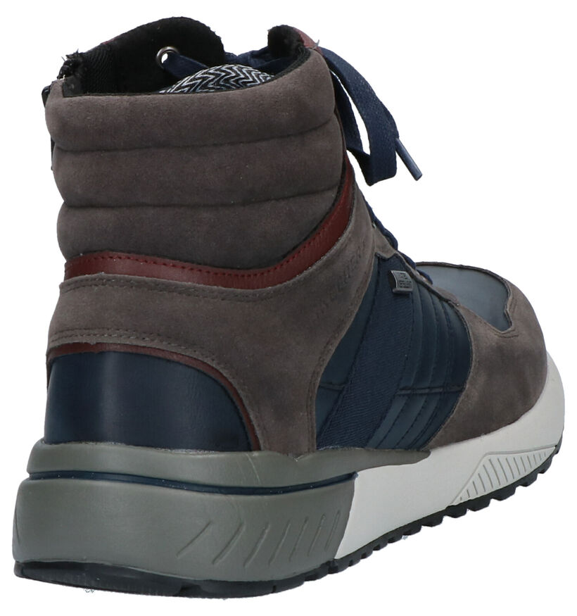 Skechers Grijze Boots in kunstleer (262810)