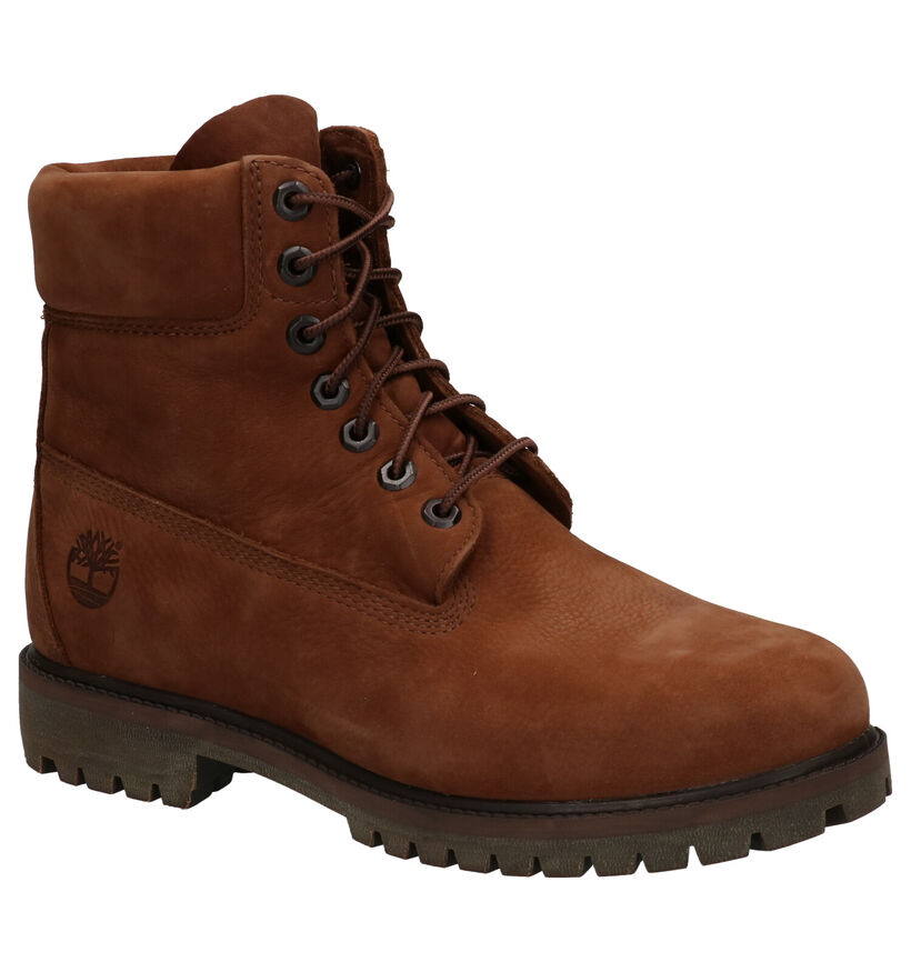 Timberland 6 Inch Premium Boots Bruin in nubuck (255314)
