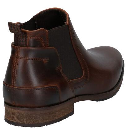 Bullboxer Chaussures hautes en Brun foncé en cuir (267067)