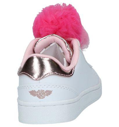 Leli Kelly Witte Sneakers in kunstleer (214668)