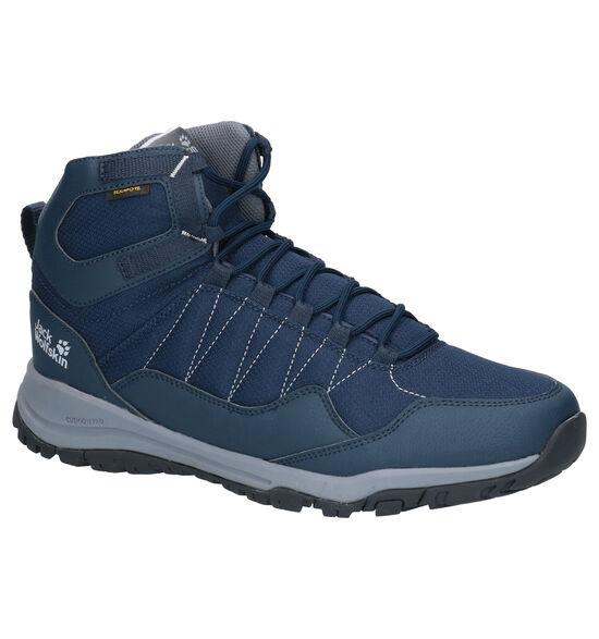 Jack Wolfskin Maze Texapore Chaussures de Marche en Bleu