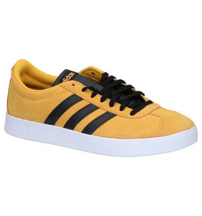 adidas VL Court 2.0 Witte Sneakers in kunstleer (264762)