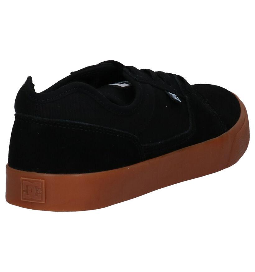 DC Shoes Tonik Zwarte Skatesneakers in stof (263840)