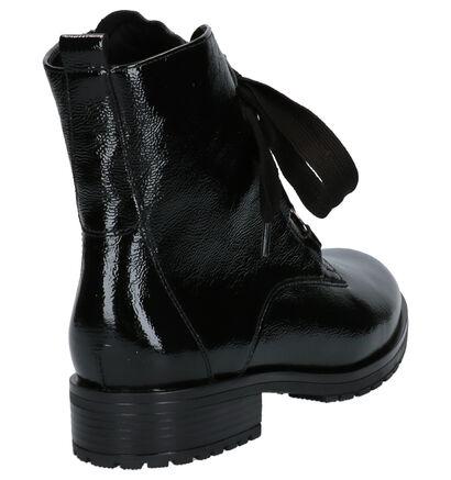 Gabor Comfort Zwarte Boots in lakleer (260236)
