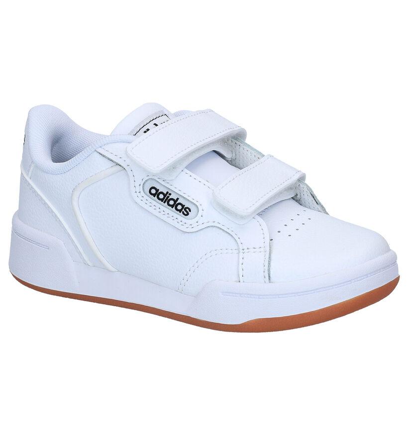 adidas Roguera Baskets en Blanc en cuir (290781)
