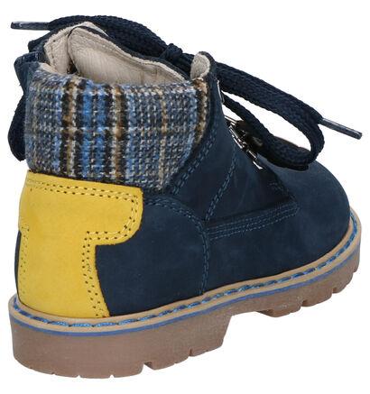 Bumba Blauwe Boots in nubuck (261013)