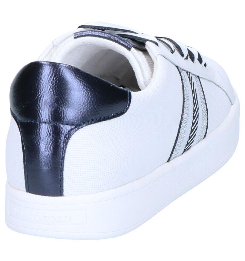 Marco Tozzi Chaussures à lacets en Blanc en simili cuir (270661)