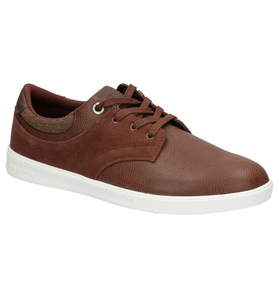Jack & Jones Spencer Bruine Veterschoenen