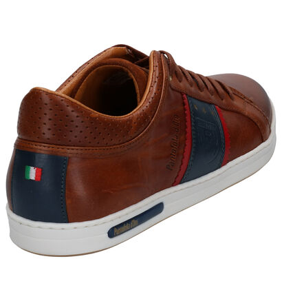 Pantofola d'Oro Marinella Donkerblauwe Veterschoenen in nubuck (257390)