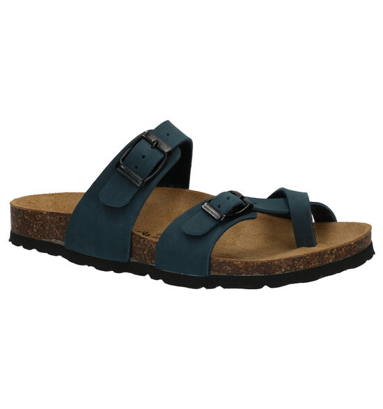 Biomodex Blauwe Teenslippers