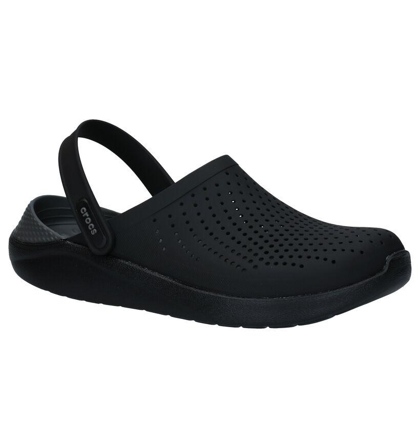 Crocs Literide Clog Zwarte Slippers in kunststof (279207)