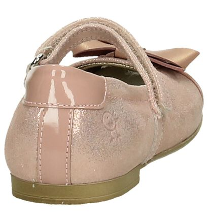Rondinella Roze Metallic Ballerina's met Bandje in lakleer (194069)